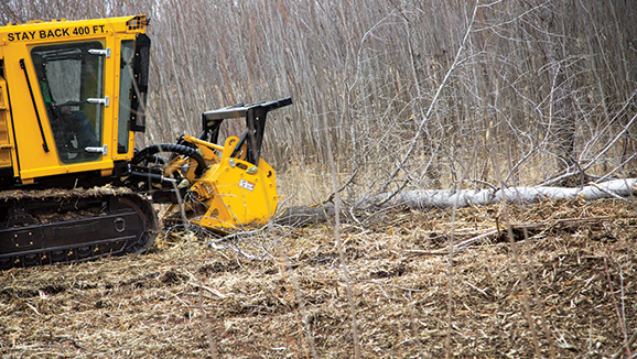 Vermeer BC FT300 Forestry Tractor